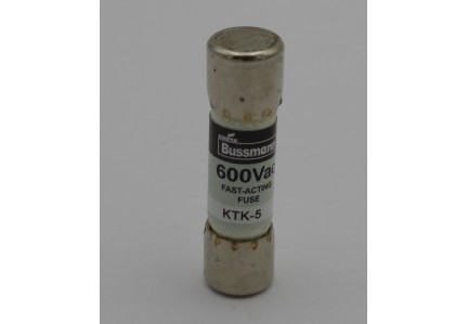 Bussmann series KTK-5 Limitron Fast Acting Supplementary Fuse 600V