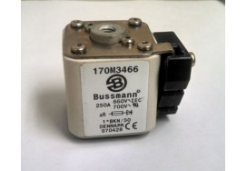 250A 690V Square Body Cooper Bussmann 170M3466 High Speed Fuse