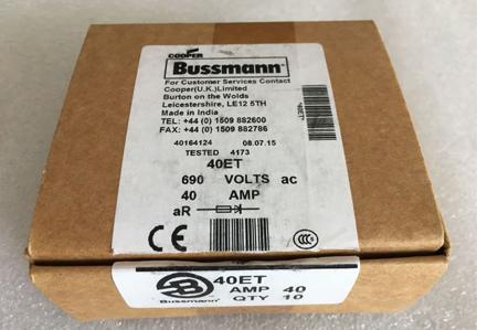 Original New High Speed 690V 40A 40ET Bussmann Fuses