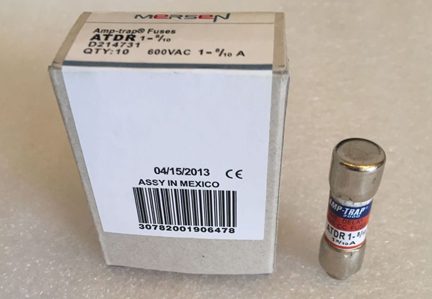 New and Original 1 - 8 / 10A 600V ATDR1 - 8 / 10 Class CC Fuse