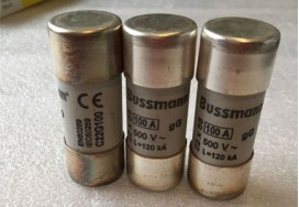 New and Original 100A 690V Bussmann Fuse C22G100 Ceramic Fuse