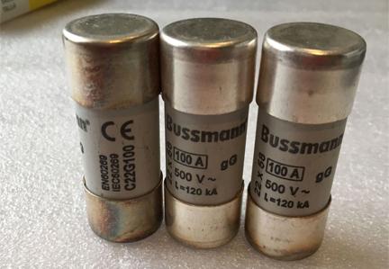 New and Original 100A 690V Bussmann Fuse C22G100 Ceramic Fuse