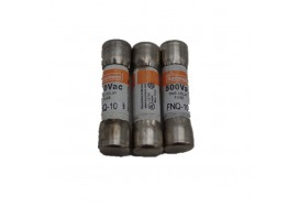 10A 500V Time Delay Supplemental Fuse FNQ-10 Bussmann Fuses