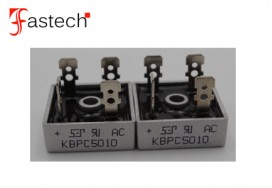 High Efficiency 50A 1000V KBPC5010 SILICON BRIDGE RECTIFIERS