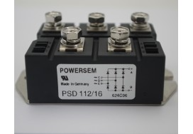 127A 1600V Three Phase  PSD112/16 Rectifier Bridges