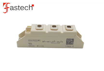 Power electronic components 1600V SKKD81/16 Rectifier Diode Modules